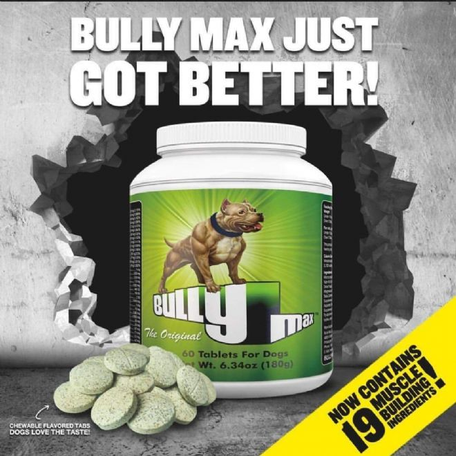 Bully Max Tablets - ENDURANCE FOR WORKING DOGS